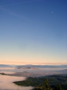 Above the Clouds on Spencer's Butte, Eugene, Oregon