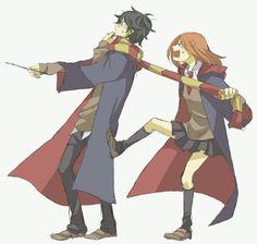 Harry Potter, Lily Evans, James Potter
