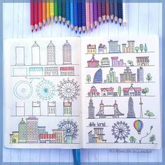 Absolutely Amazing How to Doodle Accounts - Zen of Planning Doodle Drawings, Easy Drawings, Doodle Art, How To Doodle, Journal D'art, Bullet Journal Notebook, Create 365 Planner, Coloring Brush Pen, Graffiti