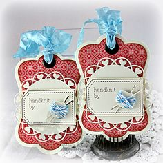 'Handknit by' Tags by booga3 - Cards and Paper Crafts at Splitcoaststampers
