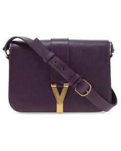 Yves Saint Laurant 'Chyc' Leather Shoulder Bag