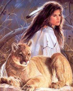 Native American Maija Art   Indian Summer MAIJA   Native American Art..