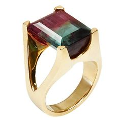 Watermelon Tourmaline Mahjong Ring 1 - Men's style, accessories, mens fashion trends 2020 Gothic Jewelry, Luxury Jewelry, Antique Jewelry, Silver Jewelry, Vintage Jewelry, Silver Ring, Opal Jewelry, Crystal Jewelry, Fine Jewelry