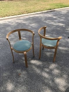 Pair of Magnus Olesen Stackable Dining Chairs.
