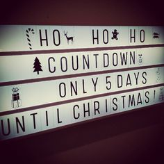 You can start the panic attack now; only 5 days until X-mas! Don't worry: we are open every day until 9pm on Friday and until 3pm on Saturday the 24th. #christmasgifts #kerstshopping #lightbox #hohoho #christmas #countdown #XLlightbox  #5daysuntilchristmas #christmasshopping #kerstcadeau #blackandwhite #zwartwit #littlelovelylightbox #kerst #lightboxxl  #christmascountdown #livinglounge