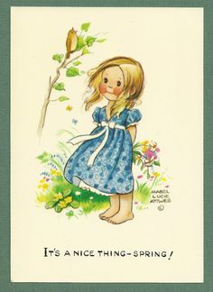 1960'S/70's MABEL LUCIE ATTWELL card
