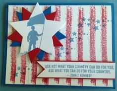 John F. Kennedy by CAR372 - Cards and Paper Crafts at Splitcoaststampers