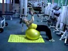 medicine fitball abs 4 - YouTube you should train with www.fitia.ca