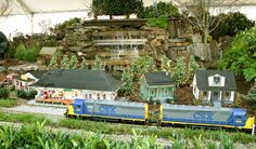 Wow!  Looks like the railroad garden at Epcot!