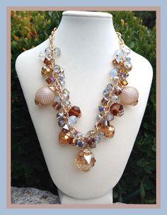 Gold & Blue Necklace