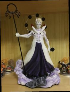 49.55$  Watch now - http://aliclq.worldwells.pw/go.php?t=32767288148 - NARUTO Figure Uchiha Obito Rikudousennin Japanese Anime Naruto Shippuden Movie Naruto Obito Action Figure Collectible Model toys 49.55$