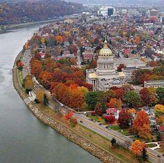 Beautiful State Capital  Charleston, West Virginia