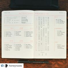 """374 Likes, 3 Comments - Planner Inspiration (@showmeyourplanner) on Instagram: """"I love this method to keep track of big #projects. @honeyrozes tracks time so she can see how busy…"""""""