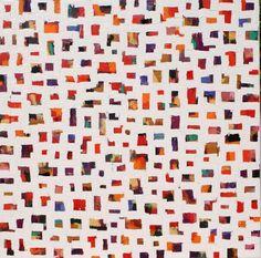 'Endless Summer', oïl painting by E. von Wrede, 90x90 cm. #color #art #kunst #arte #artcollector #summer #artgallery #contemporaryart