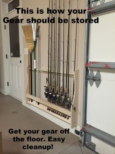 Fishing Rod Rack holds 52 rods – Rods @ Rest