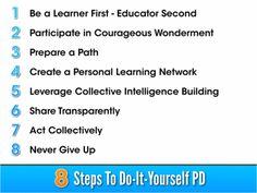 8 keys to do-it-yourself professional development