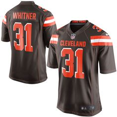 Donte Whitner Cleveland Browns Nike Youth Team Color Game Jersey - Brown - $52.24