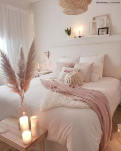 71 marvelous modern bedroom decorating for your cozy bedroom.- 71 marvelous modern bedroom decorating for your cozy bedroom ideas 55 ~ Design And Decoration Source by JolaButterfly - Beautiful Bedrooms Master, Modern Bedroom Decor, Teenage Girl Bedroom Designs, Beautiful Bedrooms, Girl Bedroom Designs, Pink Bedroom, Luxurious Bedrooms, Bedroom Design Trends, Pink Bedrooms