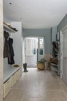 Sims Hilditch, The Garden House Boot Room Makale 3 Sink Design, Laundry Room Design, Wet Rooms, Room Doors, Luxury Interior Design, Living Room Decor, Basement, New Homes, House Design