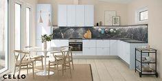Keittiö on pitkäikäinen hankinta, joten itse keittiökalusteissa nopeasti vaihtuvat trendivärit eivät juuri näy. Keittiötrendit keskittyvätkin 2019 kestävien ja energiatehokkaiden ratkaisujen ympärille. Veden säästö, puun käyttö, kalusteiden kierrättäminen. Nämä trendit ovat jo täällä eikä loppua näy! Kitchen Island, Table, Furniture, Home Decor, Island Kitchen, Decoration Home, Room Decor, Tables, Home Furnishings