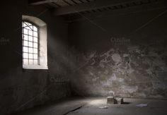 Old industrial interior by Izdebska on @creativemarket