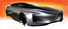 Jon Wen - Wally Power Sedan by freshcollector Automotive Design, Auto Design, Divine Proportion, Electric Cars, Electric Vehicle, Car Sketch, Cool Sketches, Machine Design, Transportation Design