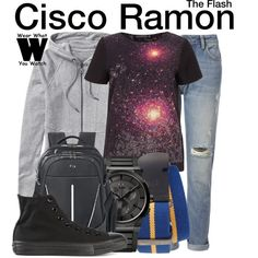 Inspired by Carlos Valdes as Cisco Ramon on The Flash.
