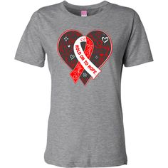 Squamous Cell Carcinoma Hold On To Hope Fashion T-Shirts spotlighting a beautiful heart design with etching accents and an awareness ribbon in the center as a reminder of inspiration and advocacy #SquamousCellCarcinomaAwareness