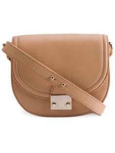 LOEFFLER RANDALL Classic Saddle Bag. #loefflerrandall #bags #shoulder bags #leather
