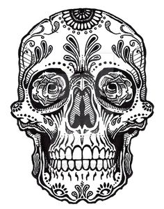 sugar skull coloring pages free - Flash Running Coloring Pages