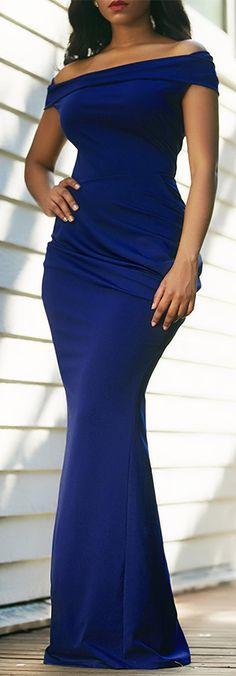 Off the shoulder classy dress at rosewe.com.