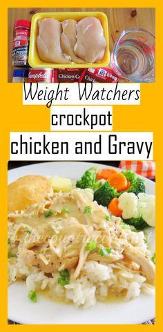 weight watchers crockpot chicken and Gravy - weight watchers recipes freestyle