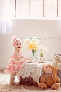 Magical Custom Tea Party Tutu Birthday Dress by VeryChicBaby, $135.00