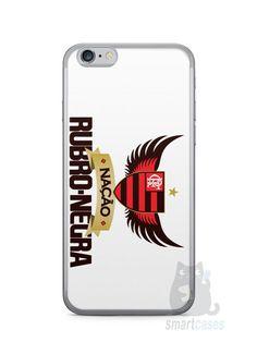 Capa Iphone 6/S Time Flamengo #3 - SmartCases - Acessórios para celulares e tablets :)
