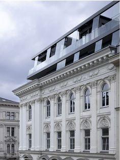 Old & new - by Schiener, Vienna.