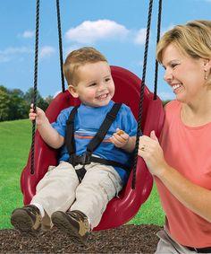 Maroon Toddler Swing