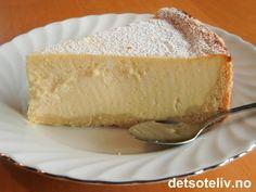 Quarkkuchen | Det søte liv No Bake Cake, Vanilla Cake, Frosting, Cupcake, Cheesecake, Yummy Food, Baking, Desserts, Recipes