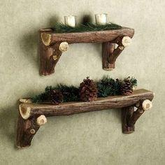 Super cute for a woods like living theme I'm going for! Living room, Nursery, Bathroom, etc.