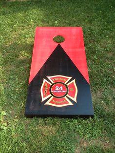 http://www.offdutyoutdoorco.com/   firefighter cornhole.my fire dept