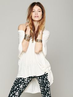 Free People We The Free Big Moment Tee, 78.00