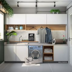 Having a tiny laundry room space does not mean that you have to keep things haphazardly. They could be kept in an organized way with the help of these small laundry room ideas with top loading washer. Outdoor Laundry Rooms, Modern Laundry Rooms, Laundry Room Layouts, Laundry Room Remodel, Laundry Room Organization, Diy Storage Drawers, Laundry Room Inspiration, Laundry Room Design, Küchen Design