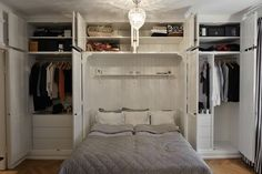 Shipping Furniture To Canada Bedroom Built In Wardrobe, Bedroom Built Ins, Fitted Bedroom Furniture, Bedroom Closet Design, Small Master Bedroom, Home Decor Bedroom, Small Space Interior Design, Basement Bedrooms, House