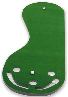 Putting Green Indoor Golf Practice Equipment Putting Mat Golfing Game 3 Hole #PuttABout