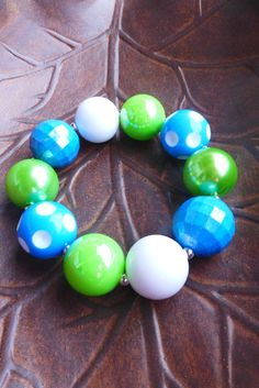 SOUNDERS Inspired BLUE and GREEN Gameday by GumballsAndGlitz