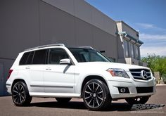 "2013 Mercedes-Benz GLK-Class with 20"" Gianelle Wheels by Wheel Specialists, Inc. in Tempe AZ . Click to view more photos and mod info."