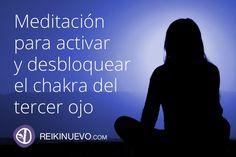 Meditación para activar y desbloquear el chakra del tercer ojo