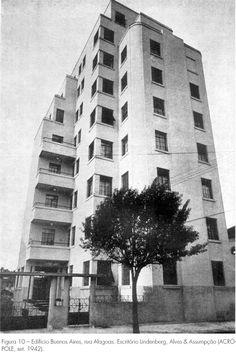 Arquitetura residencial verticalizada em São Paulo nas décadas de 1930 e 1940