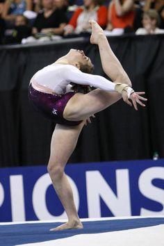 Gymnast Peyton Ernst, gymnastics n.6.1  #KyFun