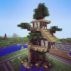 #winning Treehouse #minecraft