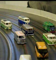 Vw bus slot track